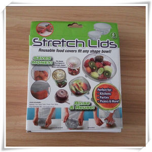 Food Grade Silicone Stretch Lids for Food Fresh (VR15003) pictures & photos
