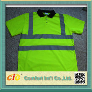 High Visibility Safety Polo T-Shirt pictures & photos