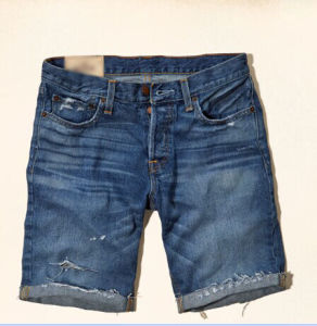 Men′s Denim Shorts (JM14100) pictures & photos