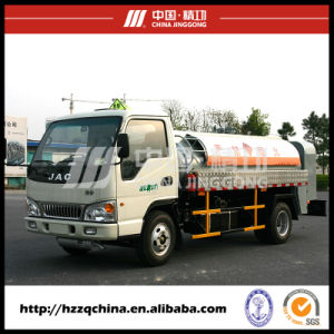 24500L SUS 257HP Fuel Tank Truck for Light Diesel Oil Delivery 8X4 (HZZ5312GJY) pictures & photos