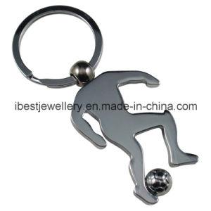 Sportman Shaped Metal Key Ring (K012) pictures & photos