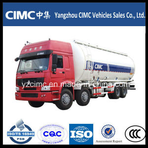 Sino HOWO 8X4 Bulk Cement Powder Material Tank Truck pictures & photos
