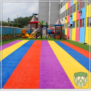Protection Artificial Synthetic Grass for Kids Playground pictures & photos