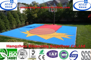 Interlocking Net Surface Basketball Court Flooring pictures & photos