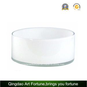 Big Printed Glass Candle Tumbler Holder for Candle and Flora Decor pictures & photos