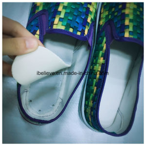 Honeycomb Outsole with Clothing Fabric Canvas Upper Elastic Shoes pictures & photos