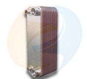 Zl95A (B3-095 Replacement) Copper Brazed Plate Heat Exchanger Equal High Pressure Freon R410A to Water Evaporator