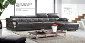 High Quality Genuine Leather Sofa in Living Room (31) pictures & photos