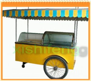 Italian Gelato Cart CE Approved pictures & photos