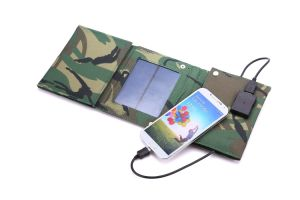Factory Original Solar Mobile Phone Power Bank Charger 24W 5V 2000mA 18V 1350mA pictures & photos