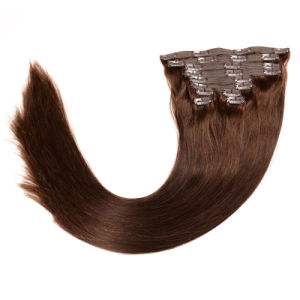 Human Hair Clip in Extensions Blonde Clip in Remy Clip on Hair Extensions 20 Inch Clip in Thick Human Hair Extensions pictures & photos