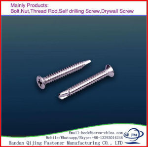 Self Tapping Screw Wood Screw Machine Screw Self Drilling SMS pictures & photos