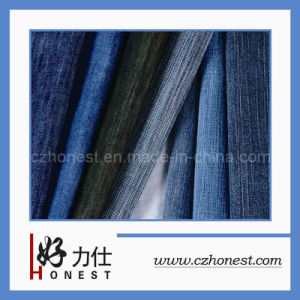 High Quality Broken Lines Denim Fabric