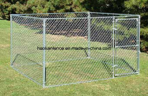 10′ X 10′ X 6′ High Chain Link Kennel Kit pictures & photos