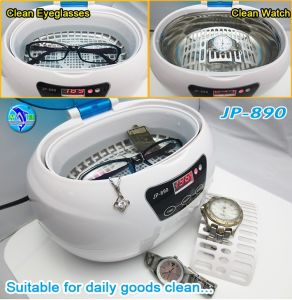 CE Eyeglasses Ultrasonic Cleaner Professional for Eyeglasses Sunglasses Cleaning 1 Year Warranty pictures & photos