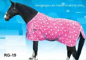 900d Poly, Water-Proof and Breathable Horse Rug (RG-19) pictures & photos