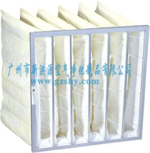 Electrostatic Nonwoven Pocket Filter