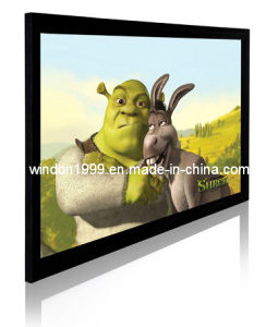 Fixed Frame Screen with 3D Silver Screen pictures & photos