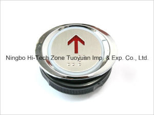 Round Type Push Button for Elevator Parts (TY-PB023B) pictures & photos