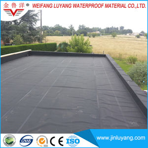 China Supply Black EPDM Rubber Roofing Waterproof Membrane for Flat Roof