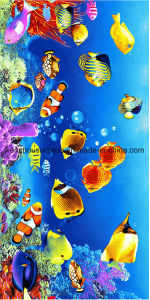 100% Cotton Reactive Printing Promotion Beach Towel pictures & photos