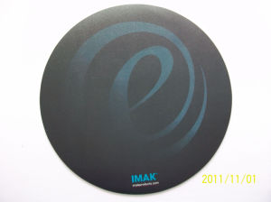 Hard Surface Mouse Pad with Skidproof Rubber Back Side pictures & photos