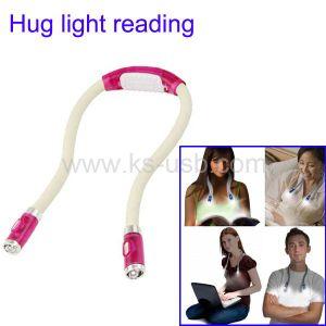 4 LED Hug Light Adjustable Reading Book Light Lamp, LED Book Light (KLED-5073)
