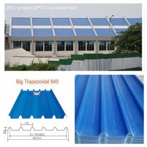 Eco-Friendly Heat Insulation 3 Layer UPVC Roof Sheet (UPVC-940) pictures & photos