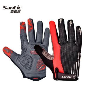 Santic New Autumn/Winter Full Refers to Bike Riding and Velvet Gloves Gloves Long - Bernie