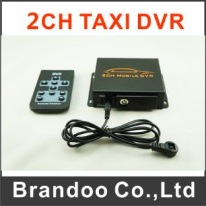 Mini 2 Channel Car DVR System, Works with 2 Car Cameras, Max. 128GB SD Card, Auto Recording pictures & photos
