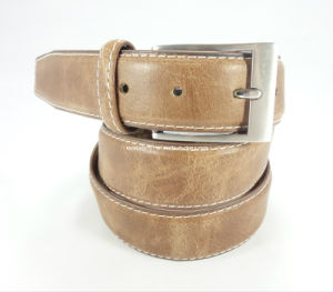 Handsome Men′s Belt of Full Grain Leather (EUBL0204-35) pictures & photos