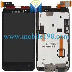 LCD Screen and Digitizer Touch Screen with Frame for HTC Desire VC T328d Parts pictures & photos