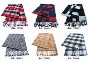 New Design Men′s Fashion Viscose Scarf (08019-08024) pictures & photos