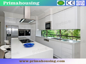 Europe Plastic Kitchen Cabinet China Supplier (PR-K2032) pictures & photos