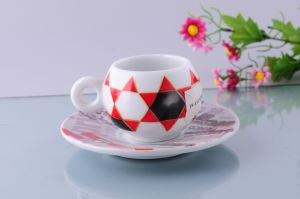 Porcelain Espresso Cup with Full Printing pictures & photos