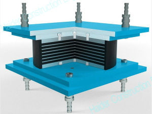 Seismic Isolation with Base Isolation pictures & photos