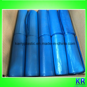 HDPE Heavy Duty S-Top Refuse Sack Garbage Bags pictures & photos