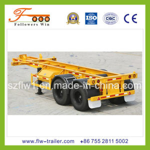 20feet 2axle Skeletal Container Semi Trailer