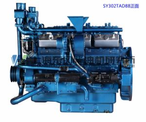 V Type/243kw/Shanghai Diesel Engine for Genset, Dongfeng pictures & photos