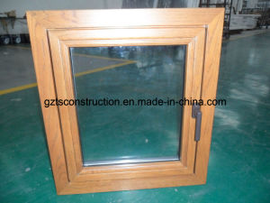 Wood Clad Aluminium Window (TS-302) pictures & photos