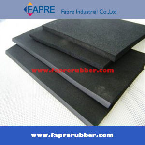 Black Red Nr Neoprene SBR NBR Silicone EPDM Rubber Board pictures & photos