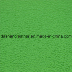 Green Furniture Semi-PU Leather for Sofa, Chair pictures & photos