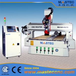 CNC Wood Carving Router Machine with Tool Changer