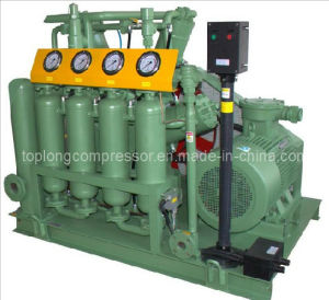 Oil Free High Pressure Medical Oxygen Helium Nitrogen Reciprocating Compressor pictures & photos