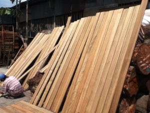 Best Quality Waterproof Burmese Teak Outdoor Timber Decking pictures & photos