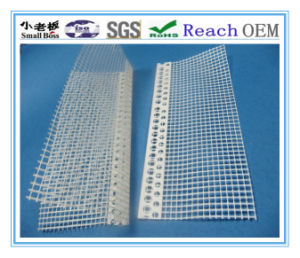 Beautiful Corner Plastic Profile with Mesh pictures & photos