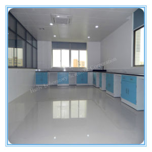 Hospital Medical Lab Glasware Washing Table with Water Splash pictures & photos