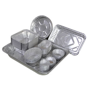 Aluminium Foil Container in Different Shapes and Sizes pictures & photos