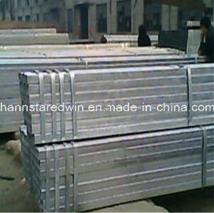 High Quality Square Steel Pipe with Galvanized pictures & photos