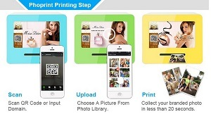 Shopping Mall 21.5 Inch Desktop Insta/Printer Photo Printing Machine pictures & photos